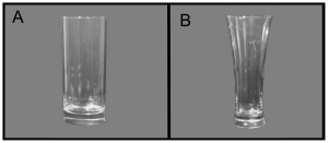 Attwood AS, Scott-Samuel NE, Stothart G, Munafò MR (2012) Glass Shape Influences Consumption Rate for Alcoholic Beverages. PLoS ONE 7(8): e43007. https://doi.org/10.1371/journal.pone.0043007